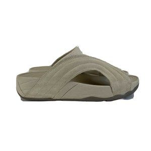 FitFlop Micro Wobble Board Ivory White Sandals